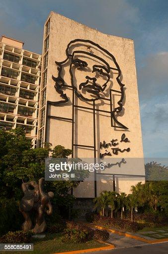 Plaza de la Revolucion, Che Guevara figure on bldg