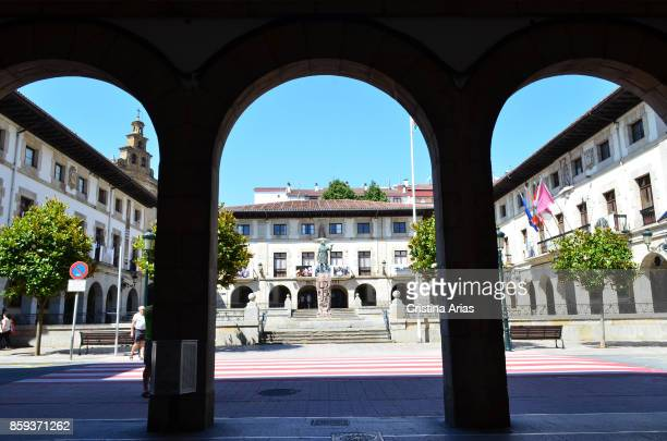 Plaza de los Fueroson 19 June 2017 GernikaLumo Basque Country Spain