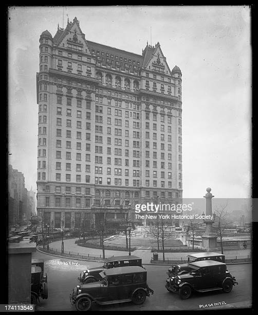 Plaza Hotel Fifth Avenue New York New York mid to late 1920s