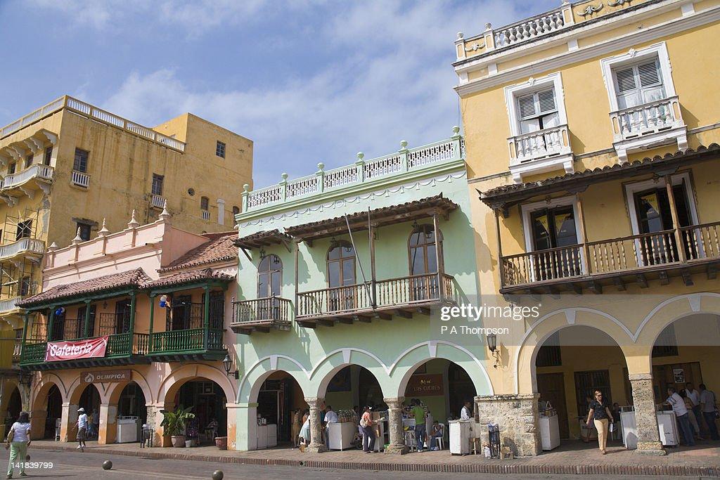 Plaza los Coches, Cartagena, Colombia : Stock Photo