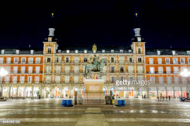 Plaza Mayor at Night, Madrid