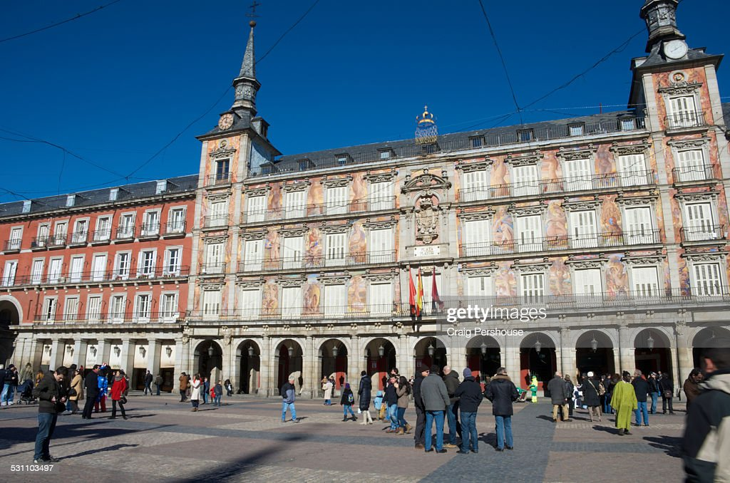 Plaza Mayor Designed In 1619 Stock Photo  Getty Images