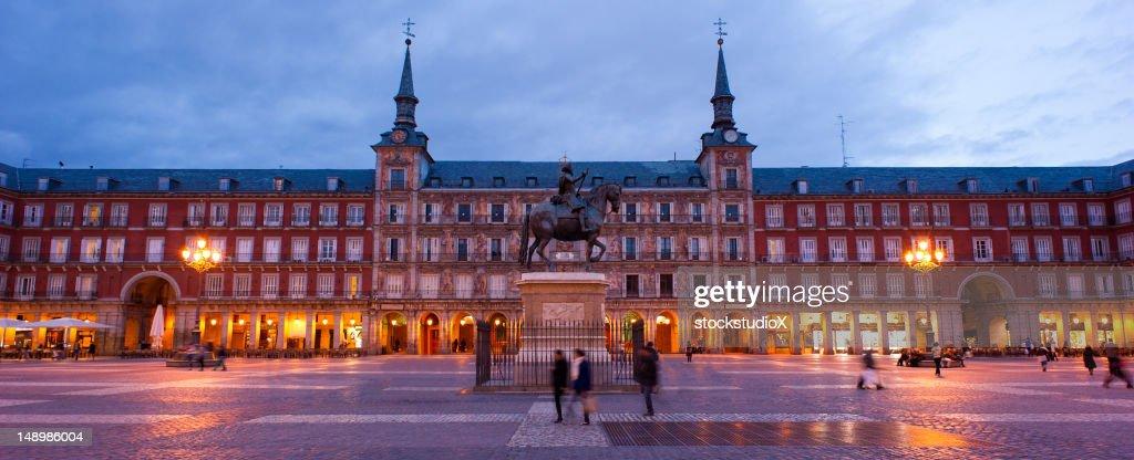 Plaza Mayor in Madrid, Spain