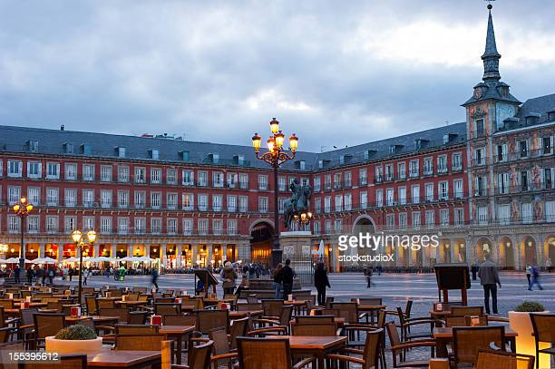 Plaza Mayor de Madrid, España