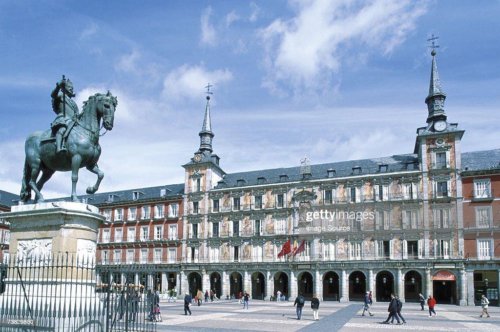 Plaza Mayor, Madrid, Spain : Stock Photo