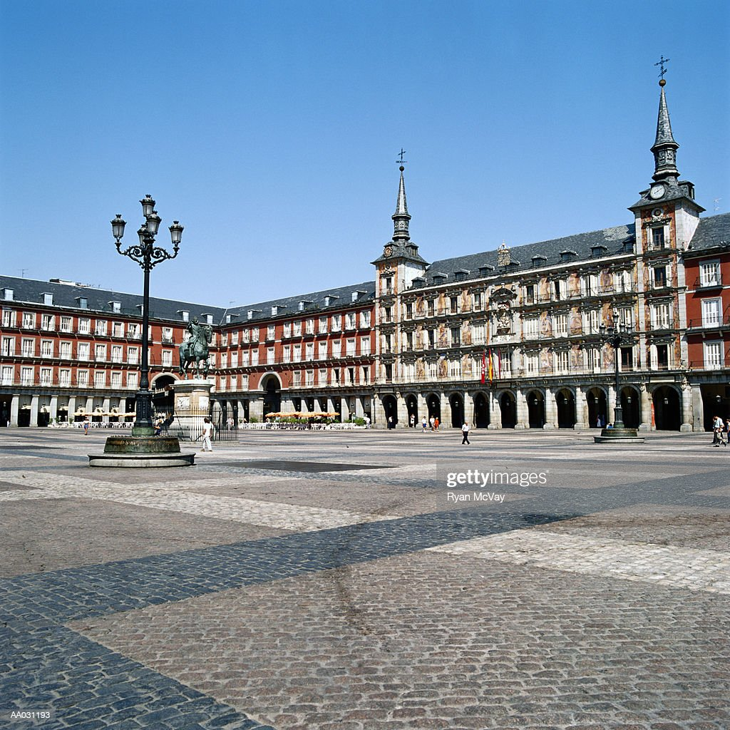 Plaza Mayor, Madrid, Spain : Stock Photo