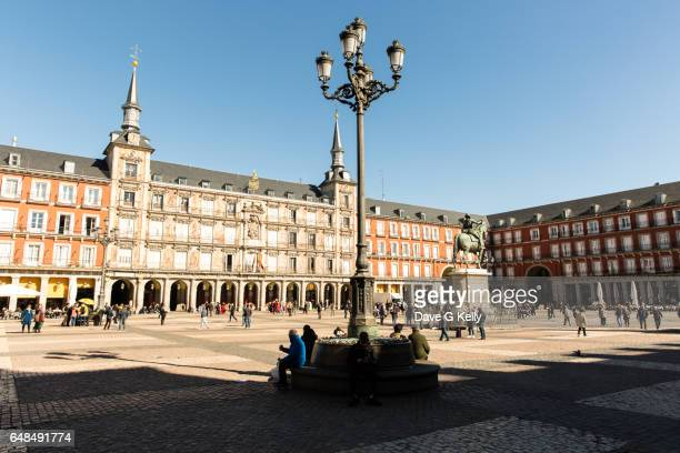 Plaza Mayor square, Madrid