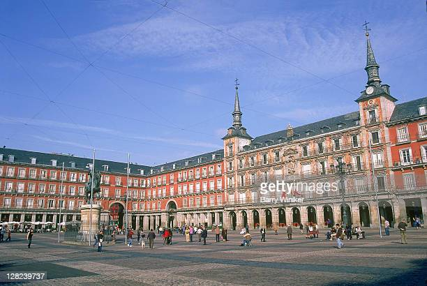 Plaza mayor madrid stock photos and pictures getty images - Casa de la panaderia madrid ...
