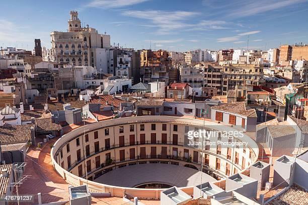 Plaza Redonda in the historic centre of Valencia.