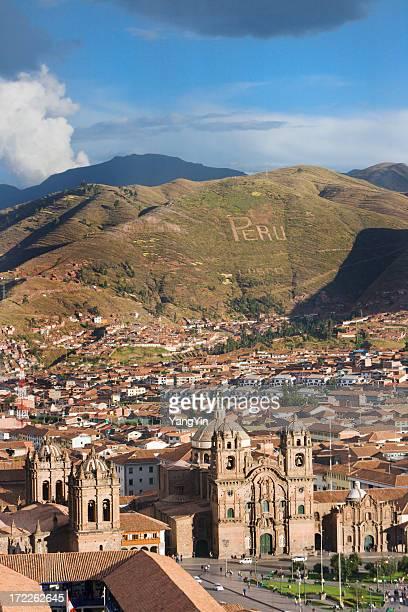 Plaza-de-ama, Cuzco, Peru Vt