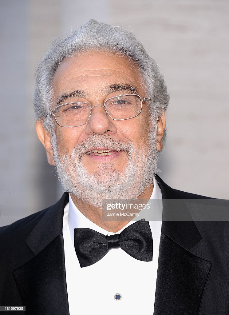 Plácido Domingo attends the Metropolitan Opera Season Opening Production Of 'Eugene Onegin' at The Metropolitan Opera House on September 23, 2013 in New York City.