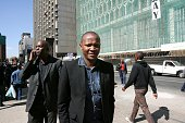 Please call me inventor Nkosana Makate leaves court on August 08 2008 in Johannesburg South Africa