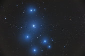 Pleiades star cluster in the constellation of Bull. My astronomy work.