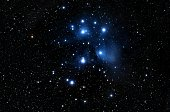 The Pleiades (also known as M45 or the Seven Sisters) is the name of an open cluster in the constellation