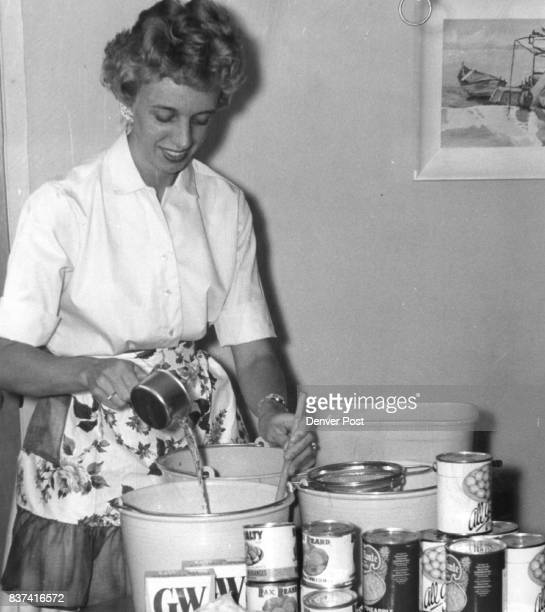 Plenty Of Salad For Fashion Show Mrs Charles Eschenburg 1758 S Locust St measures for three gallons of sour creamfruit salad she will prepare for...