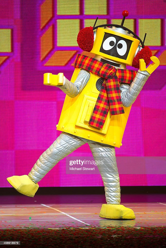 Plex performs during 'Yo Gabba Gabba! Live!' at The Beacon Theatre on December 22, 2013 in New York City.