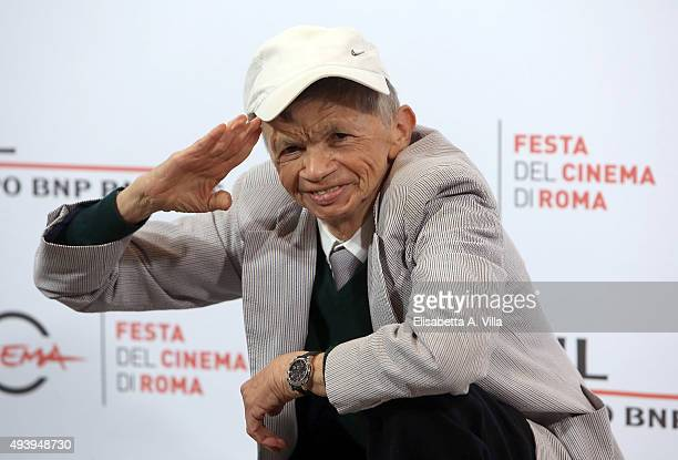 Plinio Fernando attends a photocall for 'Fantozzi' during the 10th Rome Film Fest at Auditorium Parco Della Musica on October 23 2015 in Rome Italy