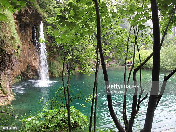 Plitvice Lakes National Park UNESCO World Heritage Site Croatia