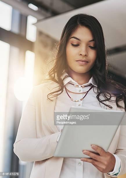 Plotting her course digitally