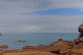 ploumanach beach - brittany