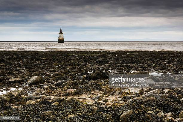 Plover Scar Lighthouse, Lancashire