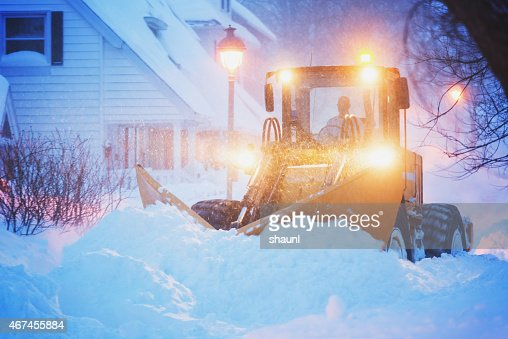 Plowing a City Street