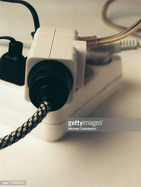 Plugs in adaptor