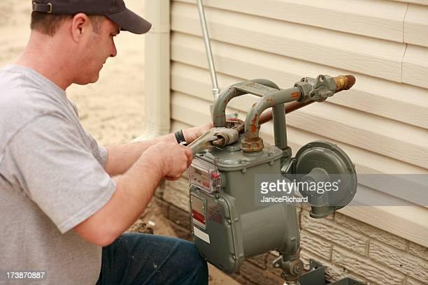 Plombier réparer Pipe à eau