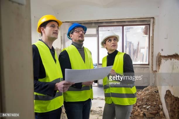Plombier avec blueprint