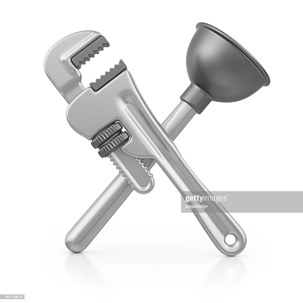 plunger with wrench