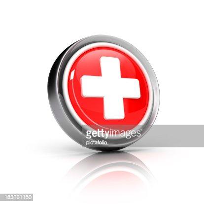 Plus o icono de primeros auxilios