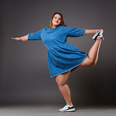9bc239d6781 Plus Size Model Stock Photos and Illustrations - Royalty-Free Images ...
