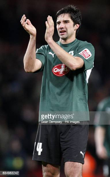 Plymouth Argyle's Rory Fallon after the final whistle