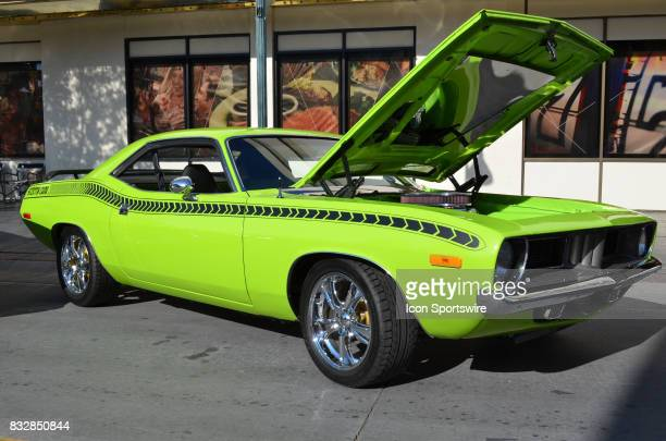 Plymouth Barracuda on display at the Hot August Nights Custom Car Show the largest nostalgic car show in the world on August 11 2017 held at Reno NV