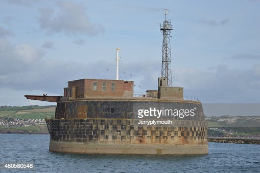 Plymouth Breakwater Fort : Stock Photo