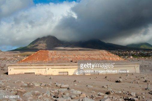 Montserrat Caribbean Volcano