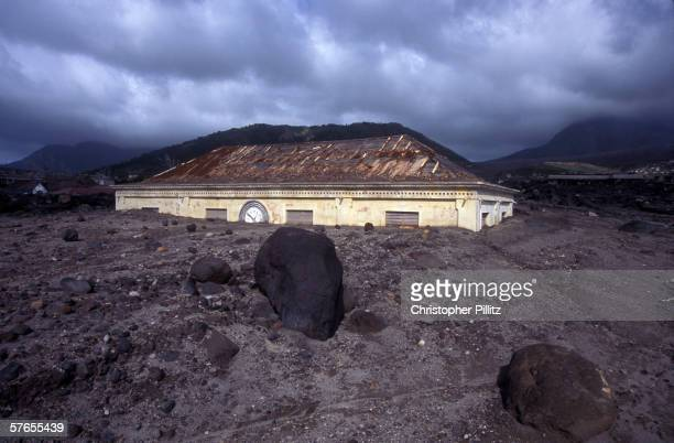 Plymouth's Court House 10 years ago the SoufriereHills Volcano erupted and destroyed large parts of the Caribbean island of Montserrat Most islanders...