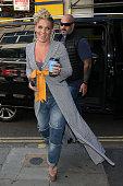 London Celebrity Sightings -  August 16, 2017