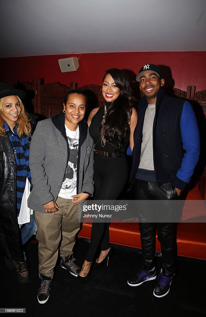 Po Johnson, Dice Dixon, La La Anthony, and Jason Bolden attend Best Buy Theater on December 18, 2012 in New York, United States.