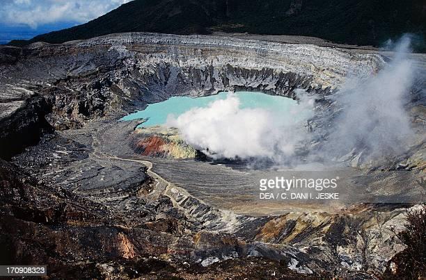 Poas Volcano National Park Alajuela Costa Rica