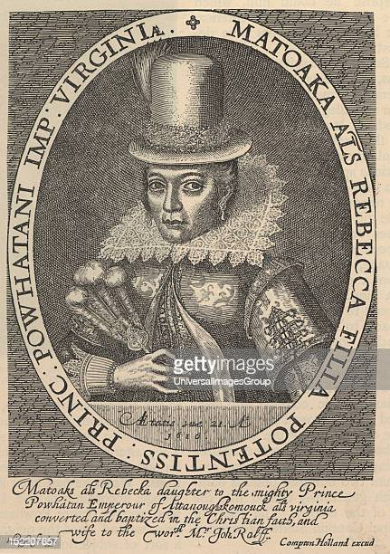 Pocahontas born Matoaka and later known as Rebecca Rolfe was a Virginia Indian notable for her association with the colonial settlement at Jamestown...