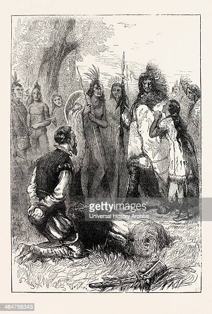 Pocahontas Saves Captain Smith's Life Pocahontas Born Matoaka And Later Known As Rebecca Rolfe Was A Virginia Indian Captain Smith Was An English...