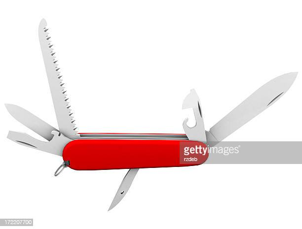 Mit Messer, Taschenmesser