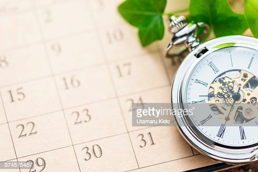 Pocket watch. : Stock Photo