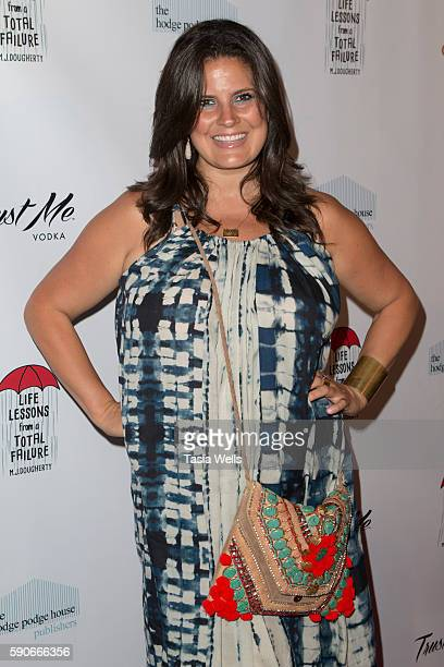 Podcast host writer and beauty and lifestyle expert Dawn McCoy attends the launch party for MJ Dougherty's 'Life Lessons from a Total Failure' at The...