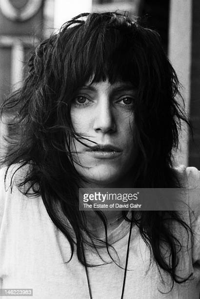 Poet and singer Patti Smith poses for a portrait on May 4 1971 at the Chelsea Hotel in New York City New York