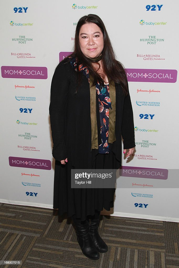 Poet Brenda Shaughnessy attends the Mom + Social Event at the 92Y Tribeca on May 8, 2013 in New York City.