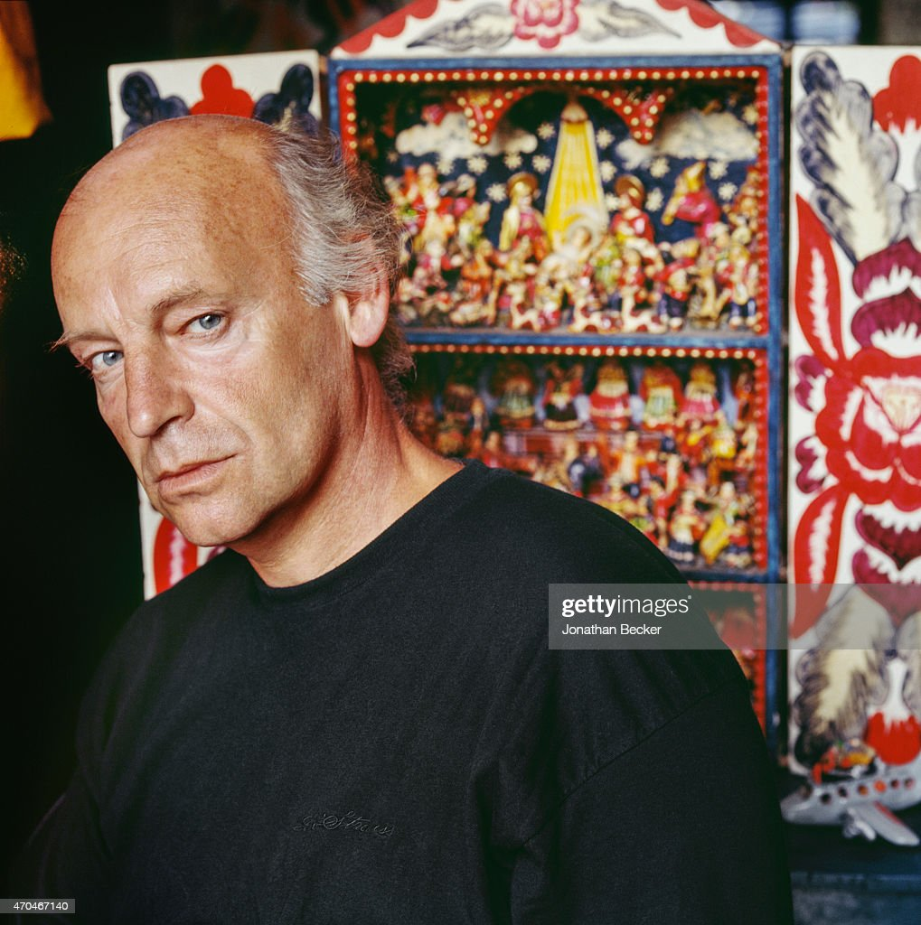 Poet <a gi-track='captionPersonalityLinkClicked' href=/galleries/search?phrase=Eduardo+Galeano&family=editorial&specificpeople=2578757 ng-click='$event.stopPropagation()'>Eduardo Galeano</a> is photographed for Town & Country Magazine on January 15, 1992 in Montevideo, Uruguay. PUBLISHED IMAGE.