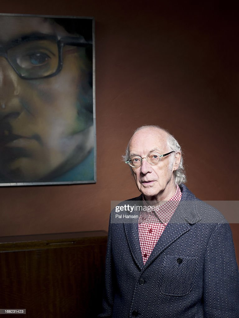 Poet Roger McGough is photographed for the Observer on October 26, 2012 in London, England.