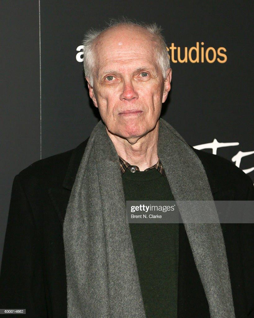 Poet Ron Padgett attends the 'Paterson' New York screening held at the Landmark Sunshine Cinema on December 15, 2016 in New York City.